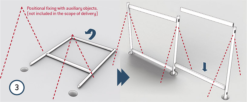 Privacy screen assembly figure 3
