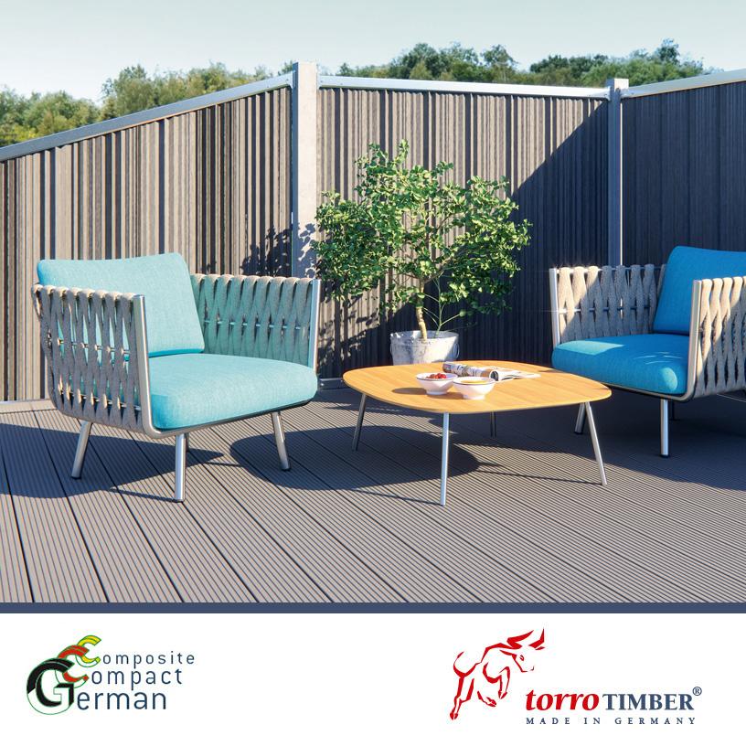 syst me de terrasse torrotimber terrassensystem. Black Bedroom Furniture Sets. Home Design Ideas